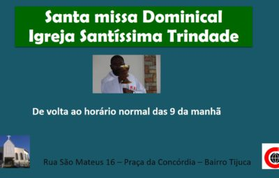 Santa missa Dominical