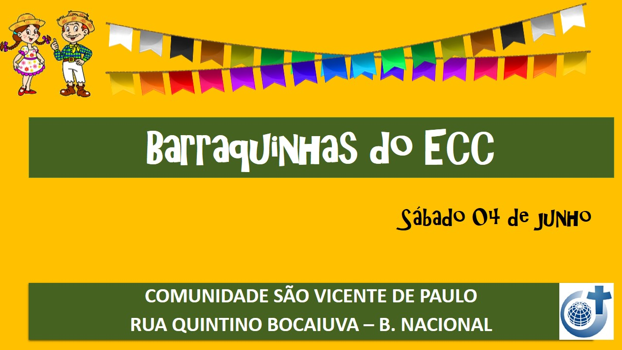 04/06 – Barraquinhas do ECC